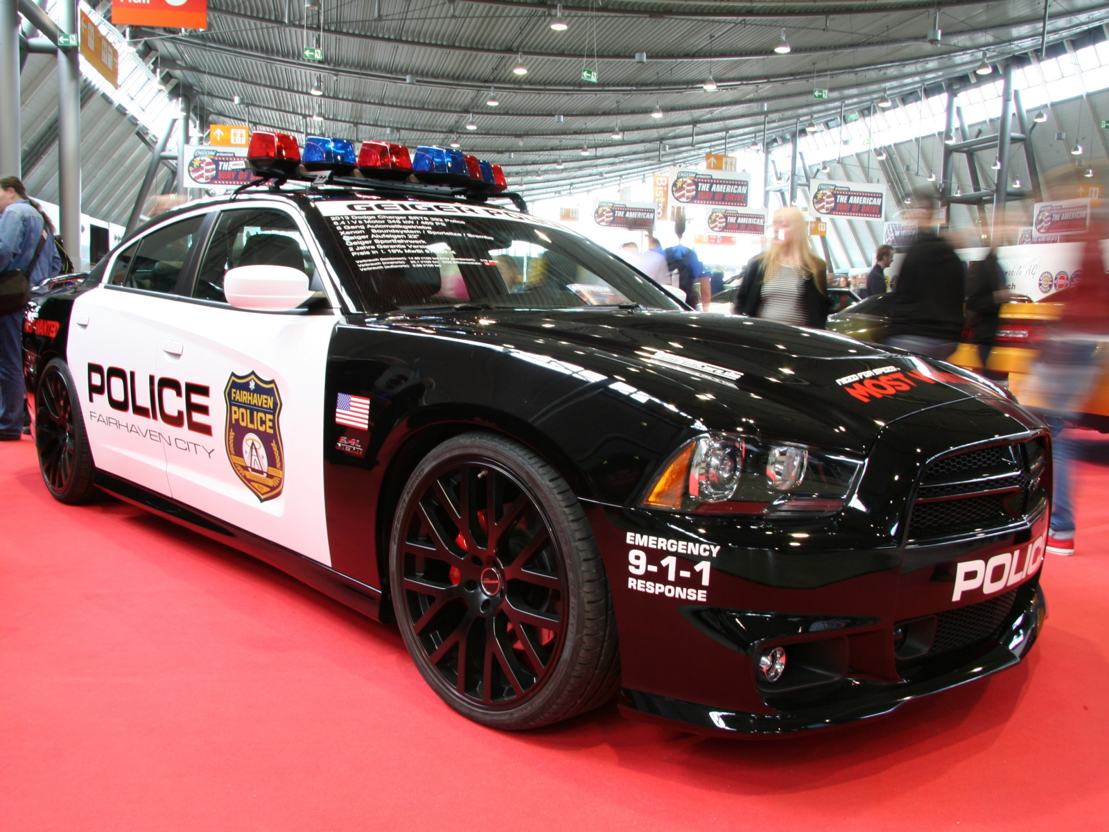 Dodge Charger SRT8 302 Police