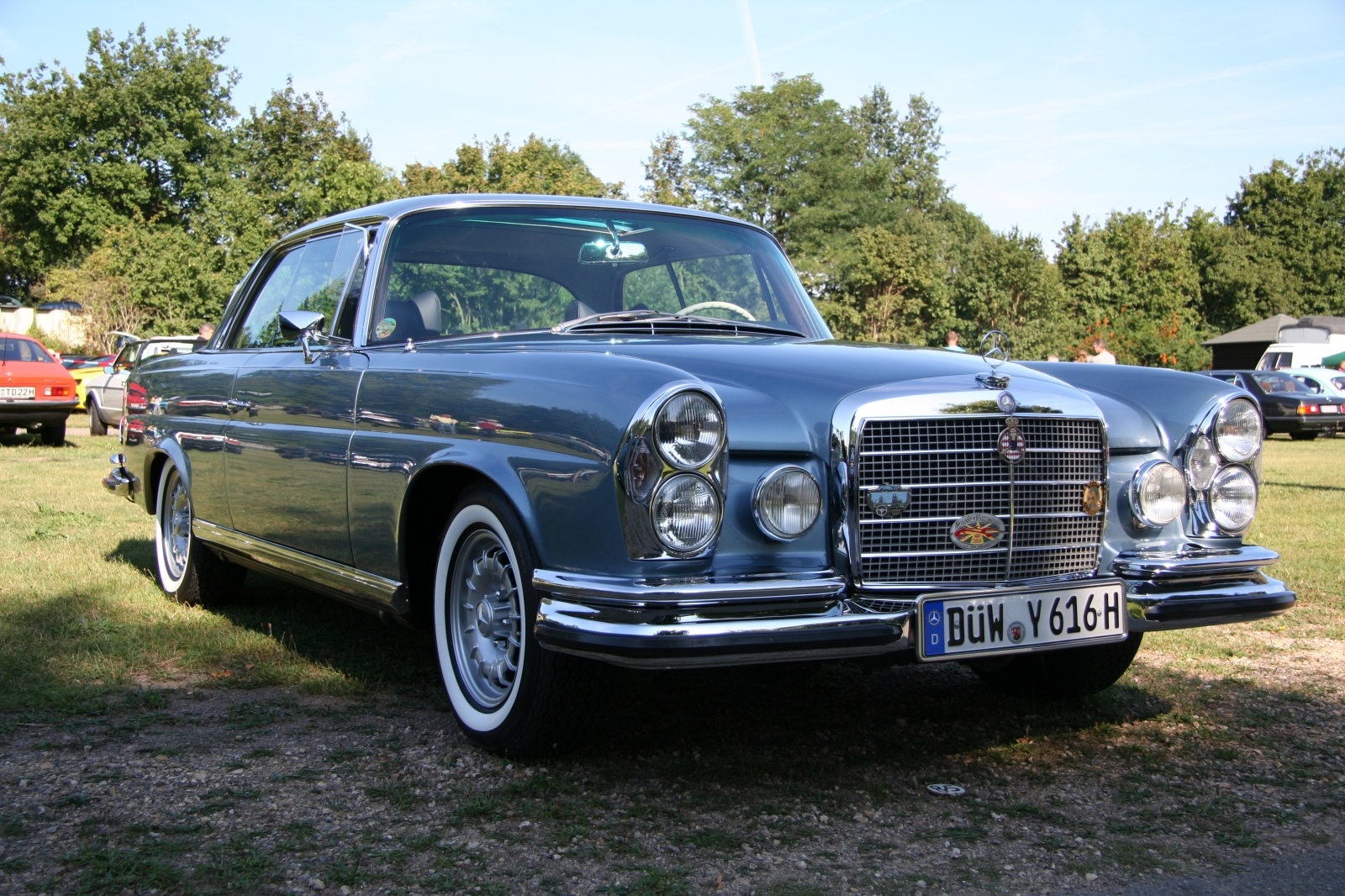 Mercedes Benz 280 SE 3,5 Coupé W111