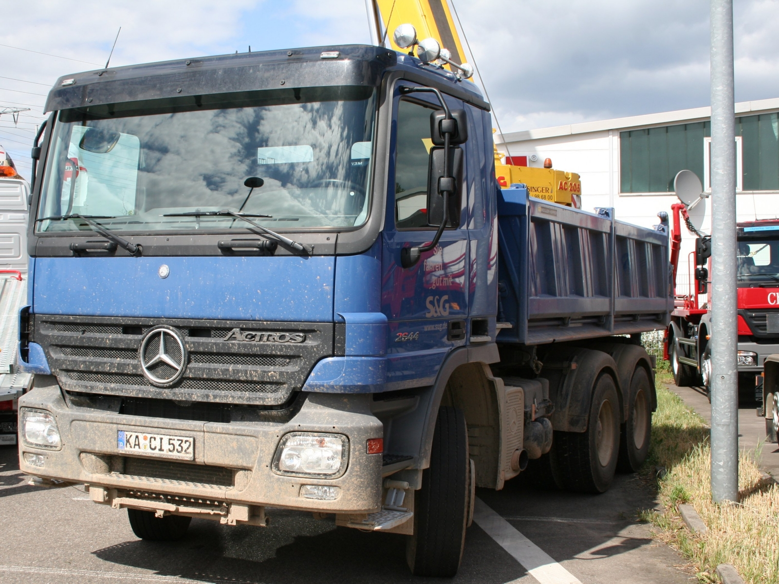 Mercedes Benz Actros 2644 Kipper
