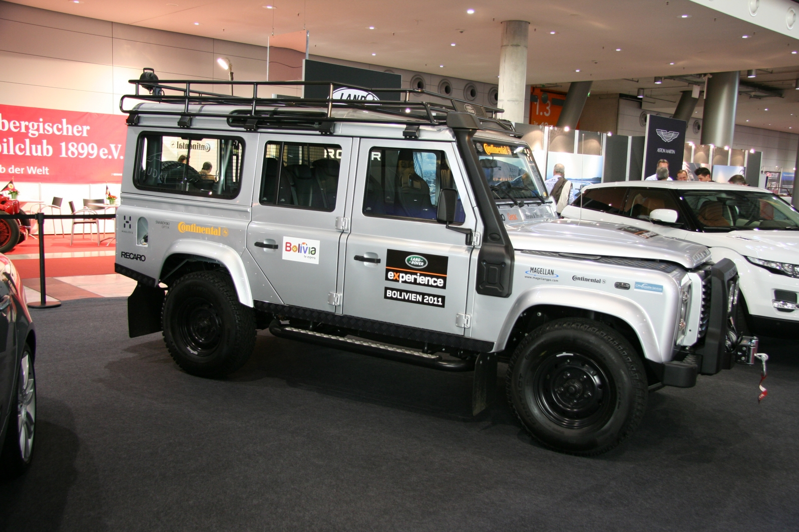 Land Rover Defender 110 Td4 Station Wagon Experience Bolivien