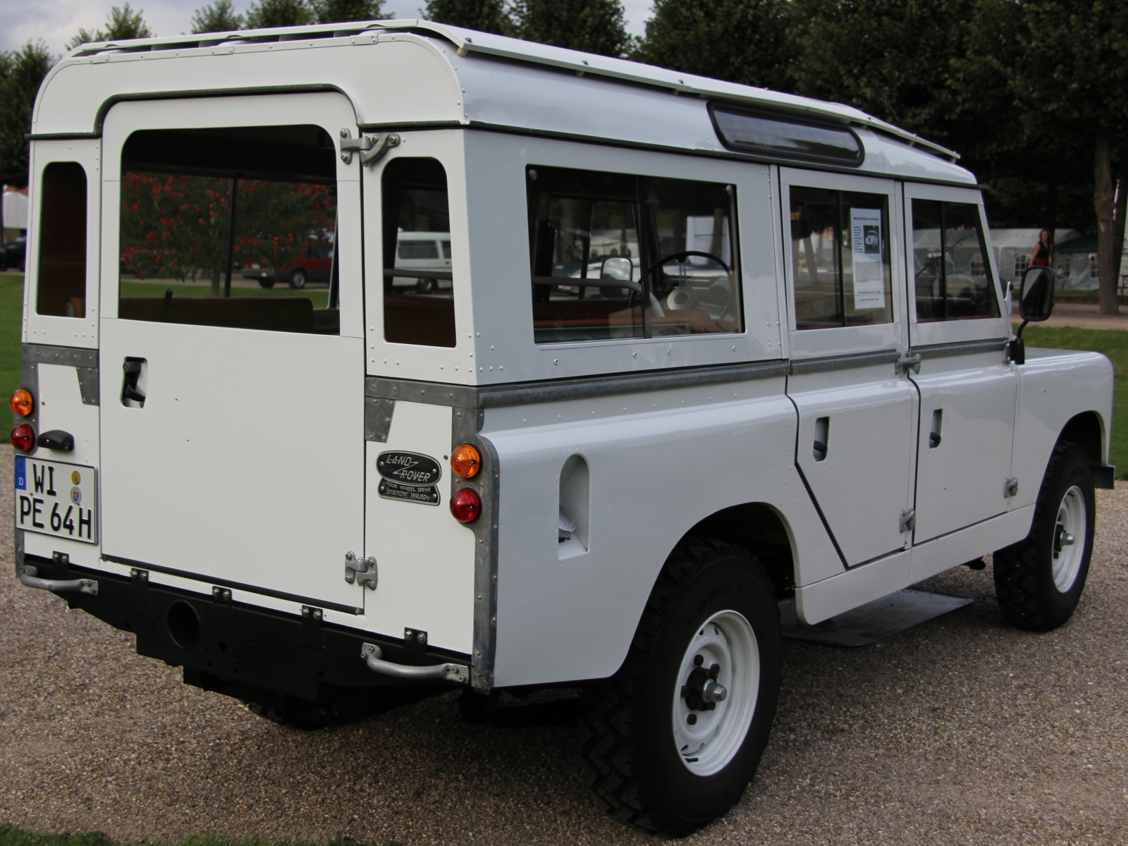 Land Rover Serie 2a 109 Station