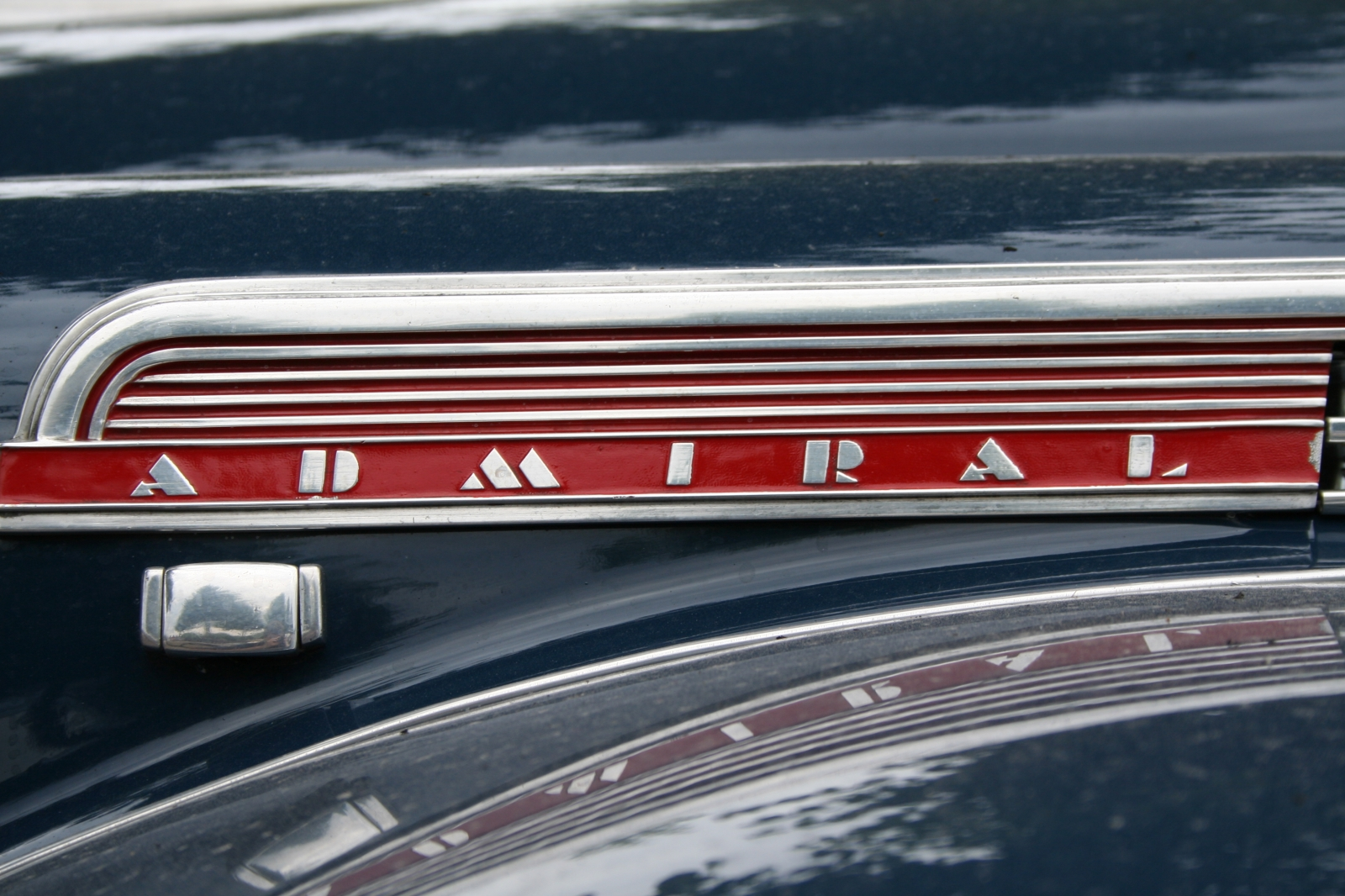 Opel Admiral Detail