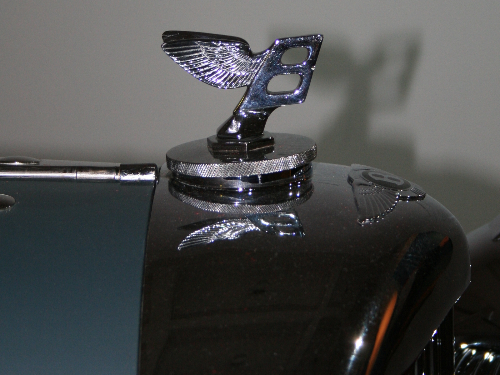 Bentley 4,25 Litre streamlined-doubleheaded-coupé Detail