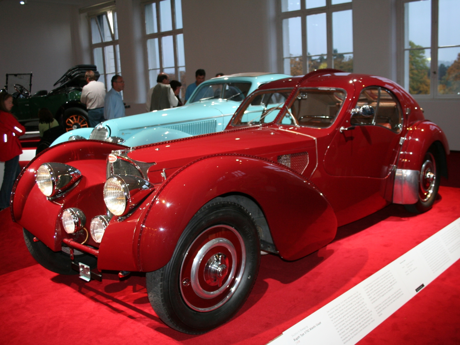 Bugatti Type 57SC Atlantic Coupé
